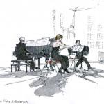Le trio a joué Astor Piazzola à chécy le 21 février 2015