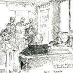 déclaration théâtrale de Christian Sterne le 16 janvier