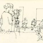 une conférence/débat avec les artistes