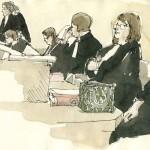 les banc des avocats