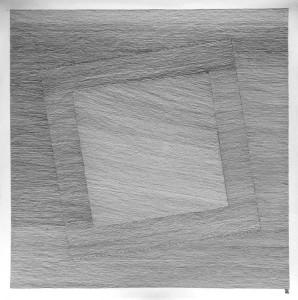 trame noire sur papier arches 50X50