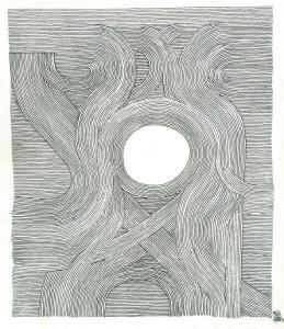encre sur papier, 21x24
