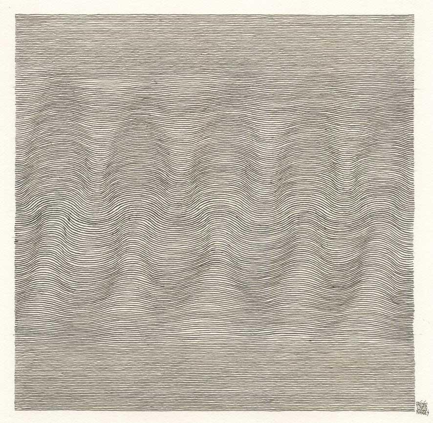 REIF06, 24x24 , brou de noix sur papier